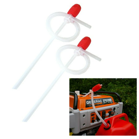 2 Super Siphon Pump Hand Pump Quick Release Hose Gas Water Deisel Fluids 60 (Jaguar Water Pump)