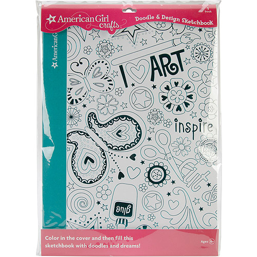 American Girl Crafts® Doodle & Design Sketchbook -Craft