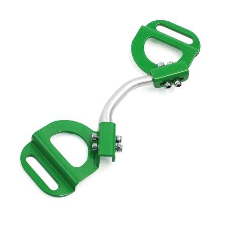 Hold Down Bracket - Green Adjustable Car Automobile Battery Hold Tie Down Clamp Mount Bracket Holder