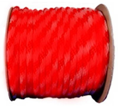 Wellington Cordage P7240S0200RFR 5/8x200 RED Braid Rope