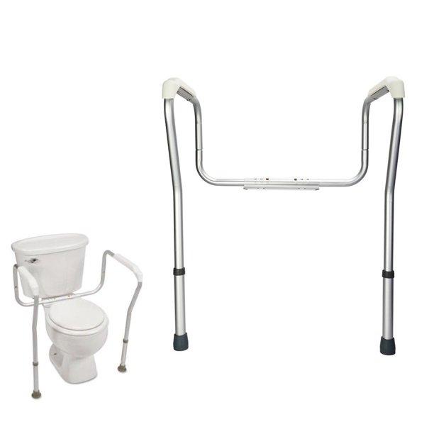 Ktaxon Toilet Support Rail Grab Bars, Bathroom Handicap Rails
