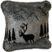 Denali Throws Forest Friends Throw Pillow