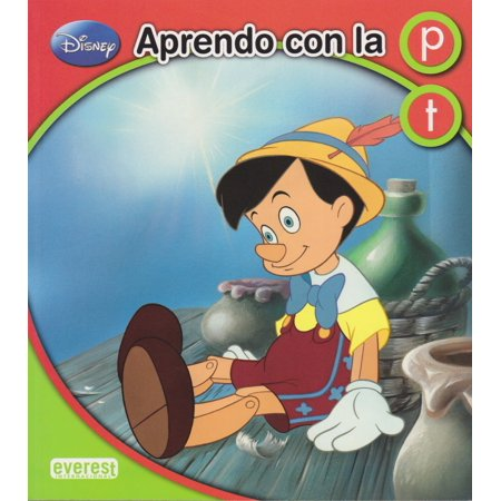 Aprendo Con La P Y La T [Paperback] [Jan 01, 2014] DISNEY ENTERPRISES - Disney Cover