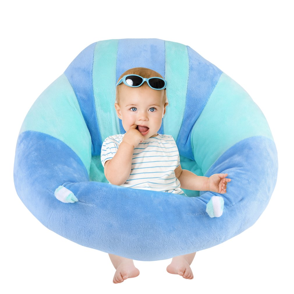 Comfortable Infant Newborn Baby Sofa Support Seat Soft Cotton Sofa Chair