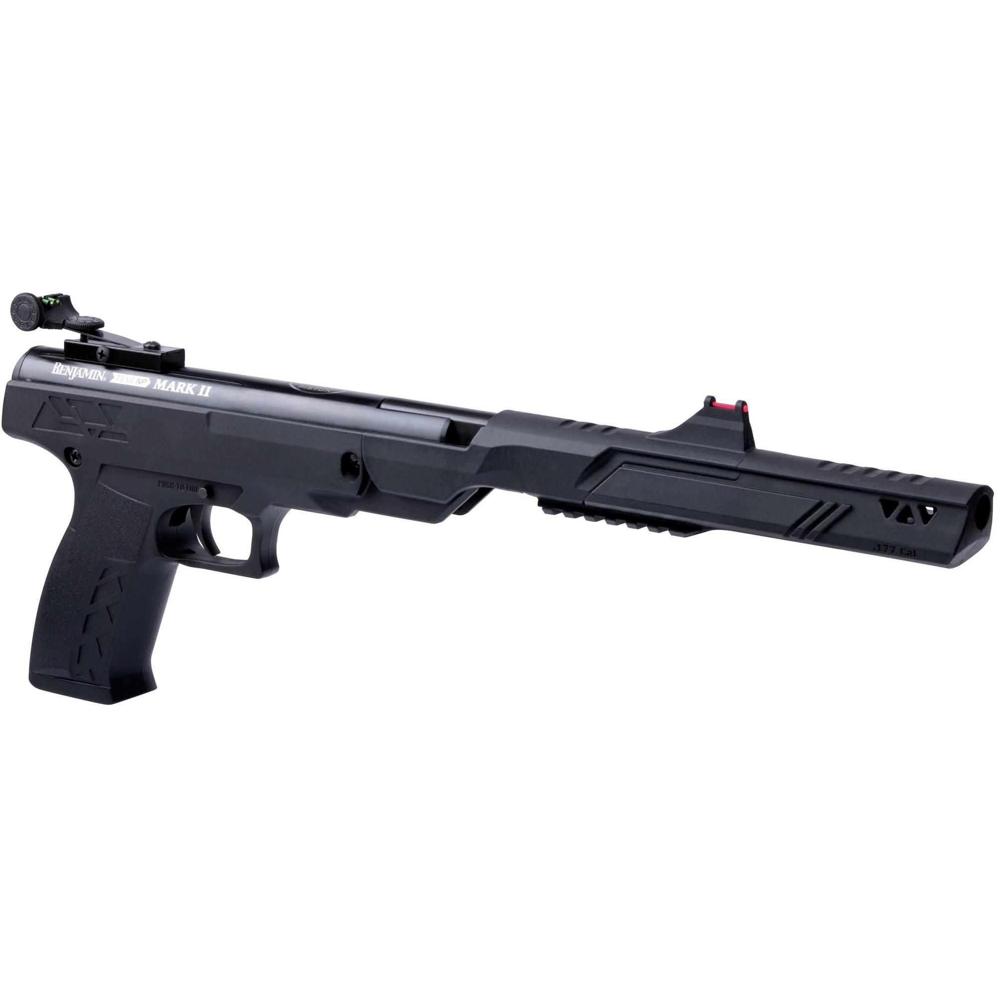 Benjamin Trial NP Mark II .177 Caliber Break Barrel Air Pistol, 625fps by