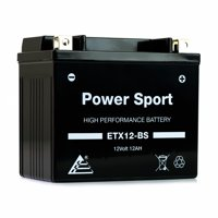 YTX12-BS Replacment battery (12v 12Ah) Maintenance Free Battery Powersport Motorcycle ATV Scooter Snowmobile ExpertPower