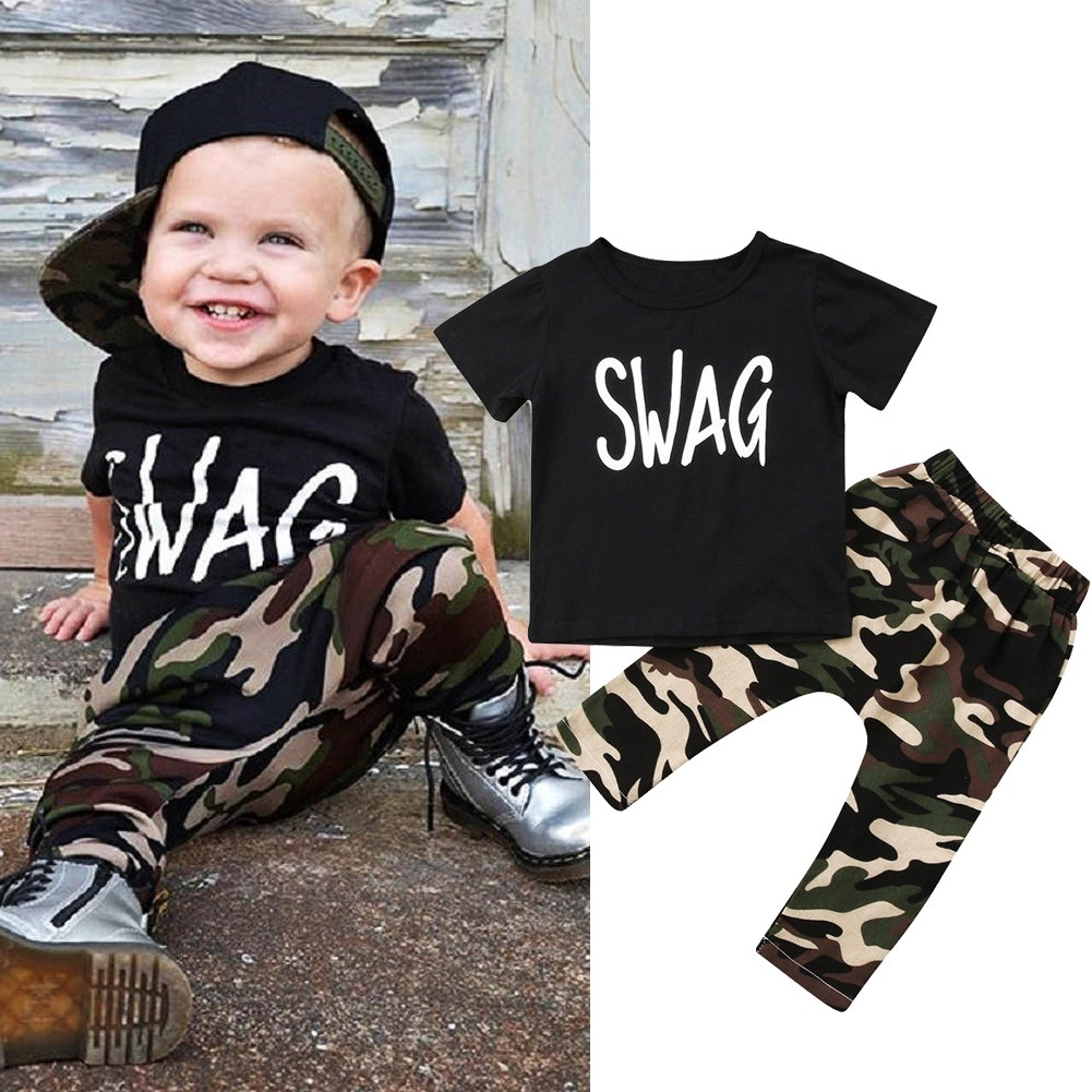 Baby Toddler  Boys 2 Pcs Outfit Set T-shirt /& Trousers//Joggers 100/% COTTON