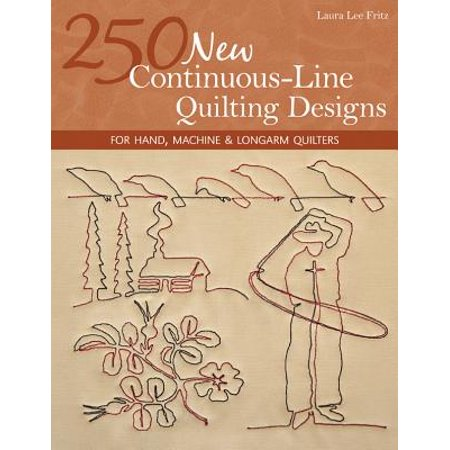 250 New Continuous-Line Quilting Designs - eBook