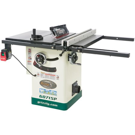 Grizzly g0715p 10 hybrid table saw with riving knife polar bear grizzly g0715p 10 hybrid table saw with riving knife polar bear series greentooth Choice Image