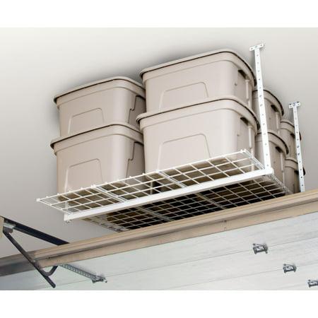 HyLoft 540 45-Inch-by-45-Inch Overhead Storage System, White (Hyloft Overhead Garage Storage)