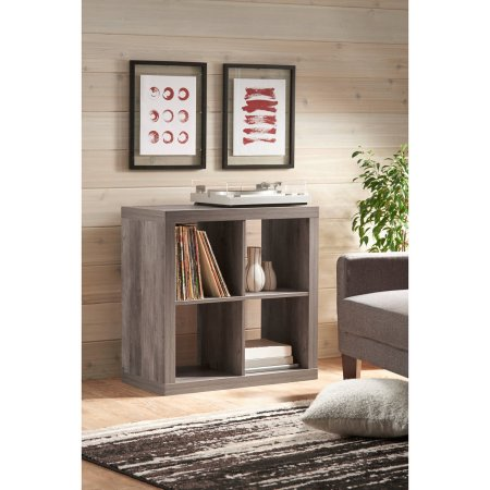 Better Homes And Gardens Square 4 Cube Storage Organizer, Multiple Colors    Walmart.com