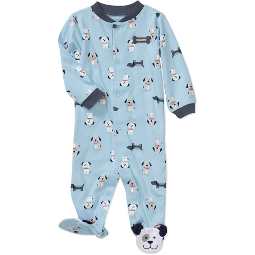 Child of Mine by Carters Newborn Boys' Puppy Print Sleep n Play Jumpsuit
