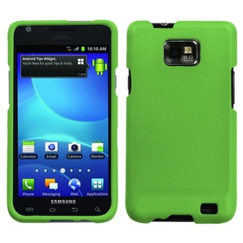 Insten Dr Green Phone Case (Rubberized) for SAMSUNG: I777 (Galaxy S II)