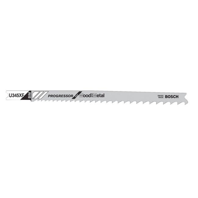 5 in. U-Shank Bi-Metal Jig Saw Blades  10 TPI - image 1 of 1