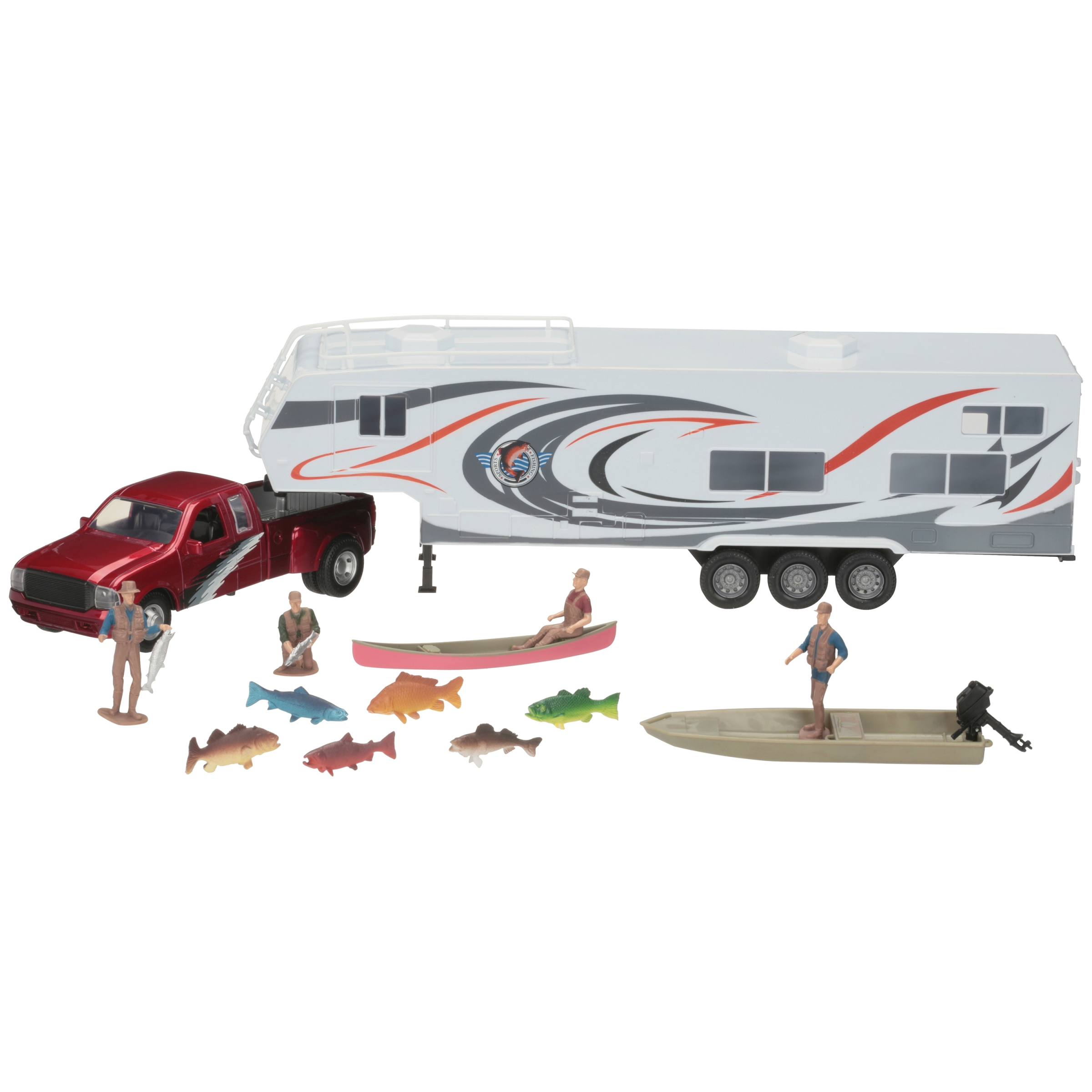 New-Ray Wildlife Hunter Play Set Box