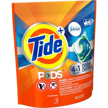 Tide Pods Plus Febreze Odor Defense Laundry Detergent Pacs