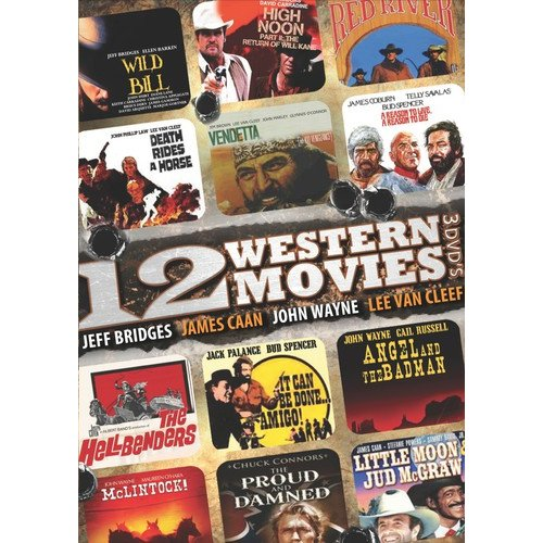 12 Western Movies by TGG DIRECT