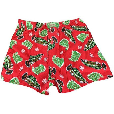 National Lampoons Christmas Vacation Boxers With Collectible Tin (Small)