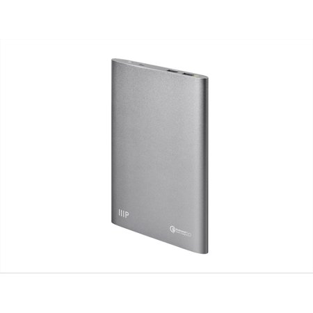 Monoprice Executive Series Portable Charger  15 000 Mah Power Bank  Qualcomm Quick Charge 2 0   2 4A Outputs