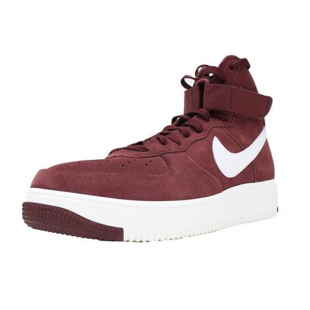 Nike Air Force 1 Ultraforce Sz 8 880854 Equipo Rojo Oscuro Blanco 880854 8 Cumbre 0adae5
