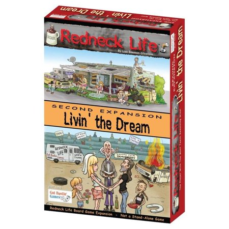 Redneck Life Livin' the Dream! Expansion Multi-Player Interactive Board Game Gut Bustin' Games GUT1015