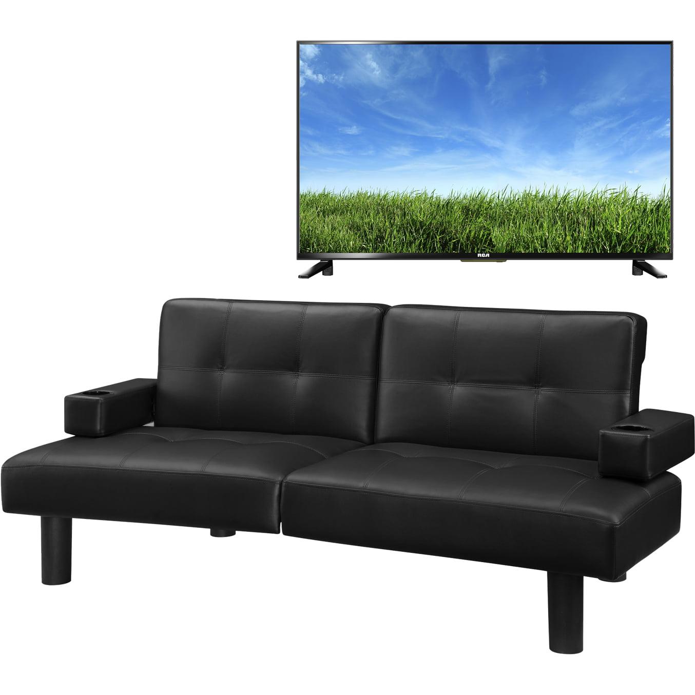 mainstays connectrix faux leather futon 28 images mainstays