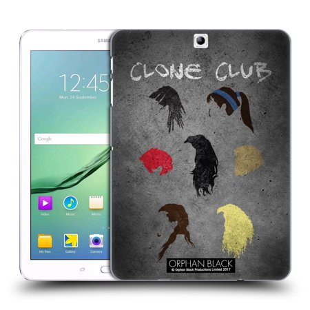 OFFICIAL ORPHAN BLACK ARTWORK HARD BACK CASE FOR SAMSUNG TABLETS 1