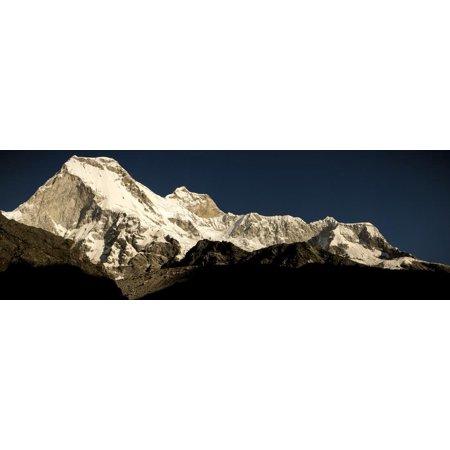 Nevado Huandoy Mountain Range, Parque Nacional Huascaran, UNESCO World Heritage Site, Peru Print Wall Art By Ian Egner