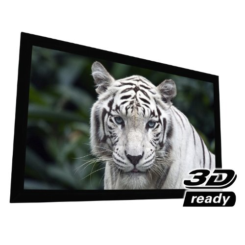 """EluneVision Reference PureBright 4K Fixed Frame Projection Screen - 135"""" (118"""" x 66"""") Viewable - 16:9"""