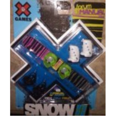 X Games Fingerboard Snowboard Constant Boots / Forum Youngblood Snowboard
