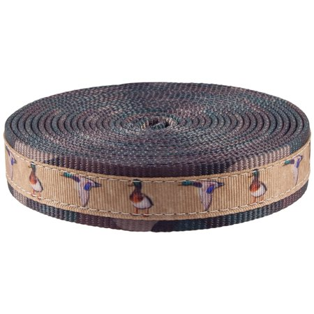 Country Brook Design® 1 Inch Mallard Ribbon on Woodland Camo Polyester Webbing](Camouflage Ribbon)