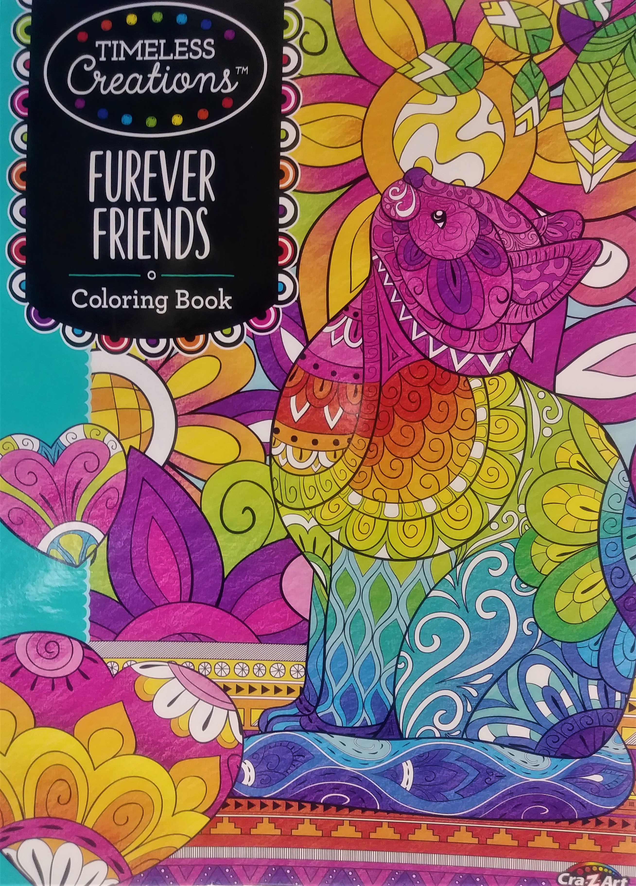 - Cra-Z-Art Timeless Creations Coloring Book, Furever Friends, 64 Pages -  Walmart.com - Walmart.com