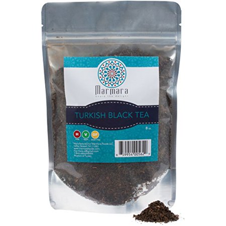 Authentic Tea (Marmara authentic loose Turkish Black Tea 8 ounce )