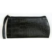 Smashbox Solid Black Wristlet Cosmetic Makeup Bag