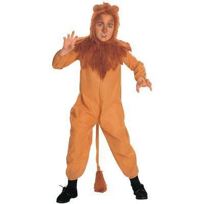 IN-MC2303MD Wizard of Oz Cowardly Lion Boys Halloween Costume - Boys Wizard Costume