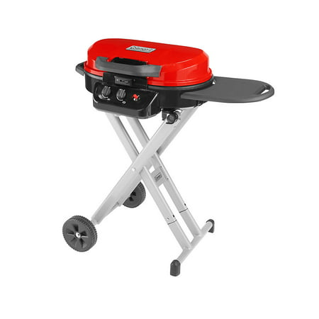Coleman® RoadTrip 225 Portable Stand-Up Propane Grill, Red
