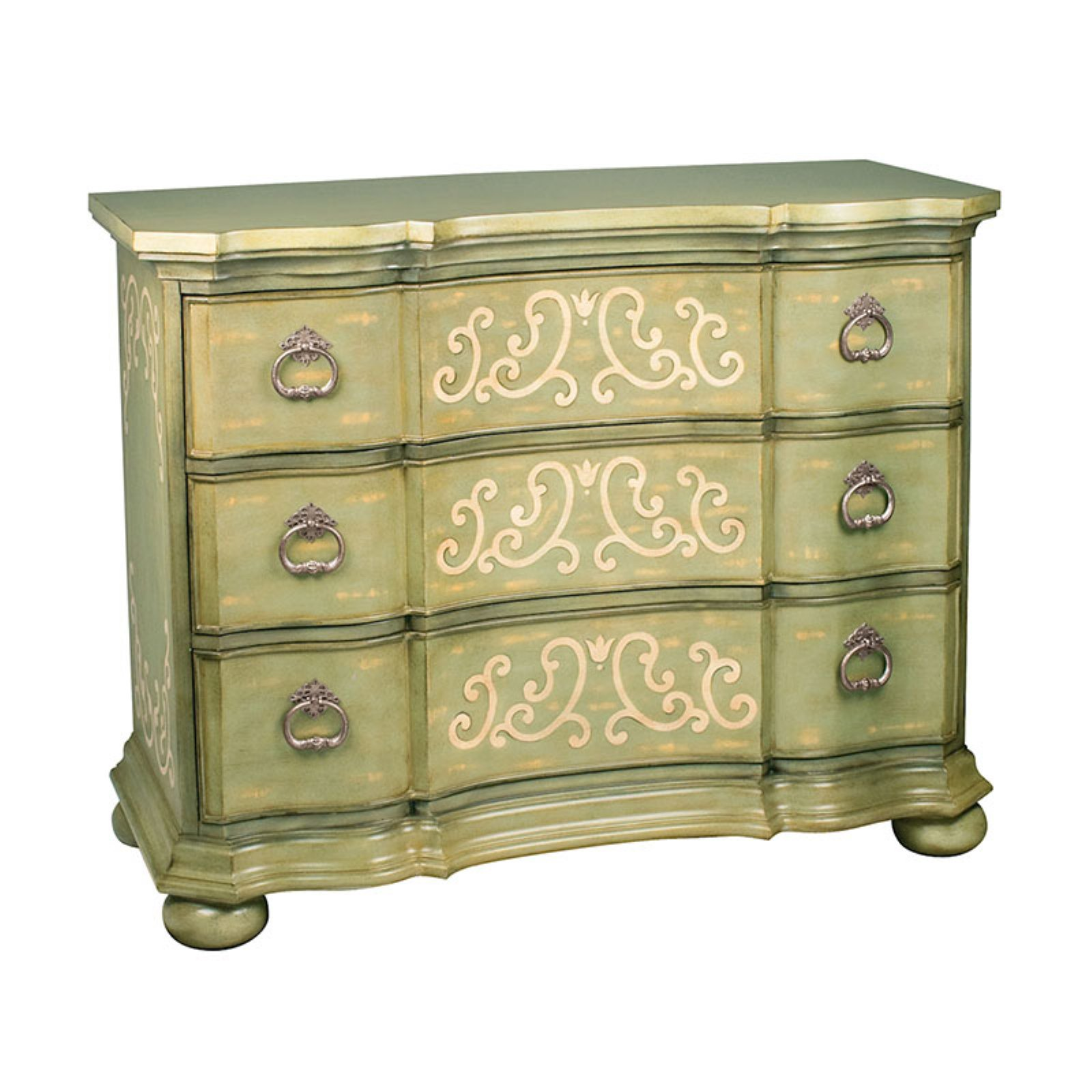 ELK Lighting Argent Scroll Chest by Sterling