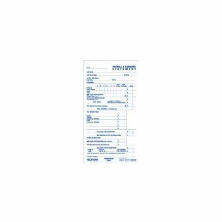 Rediform Individual Time/payroll Record Form - 55 Sheet[s] - 2 Part - (s6052cl) Rediform Two Part