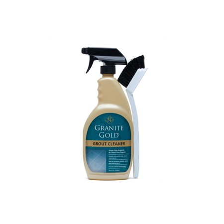 Granite Gold Grout Cleaner With Brush, 24 Ounce