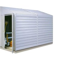Yardsaver® 4 ft. x 10 ft. Steel Storage Shed(4 x 10 ft.1,2 x 2,9 m)