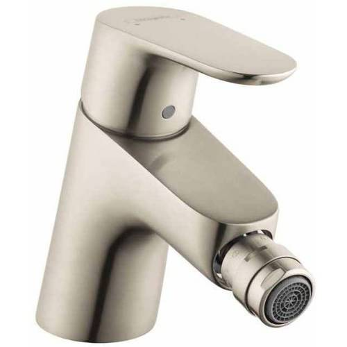 Hansgrohe 31920821 Focus Bidet Faucet with Pop-Up Drain Assembly, Various Colors