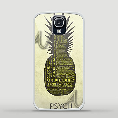 Ganma Psych Pineapple Logo Case For iPhone and Case For Samsung Galaxy (Case For iPhone 6 Plus / 6s Plus white)