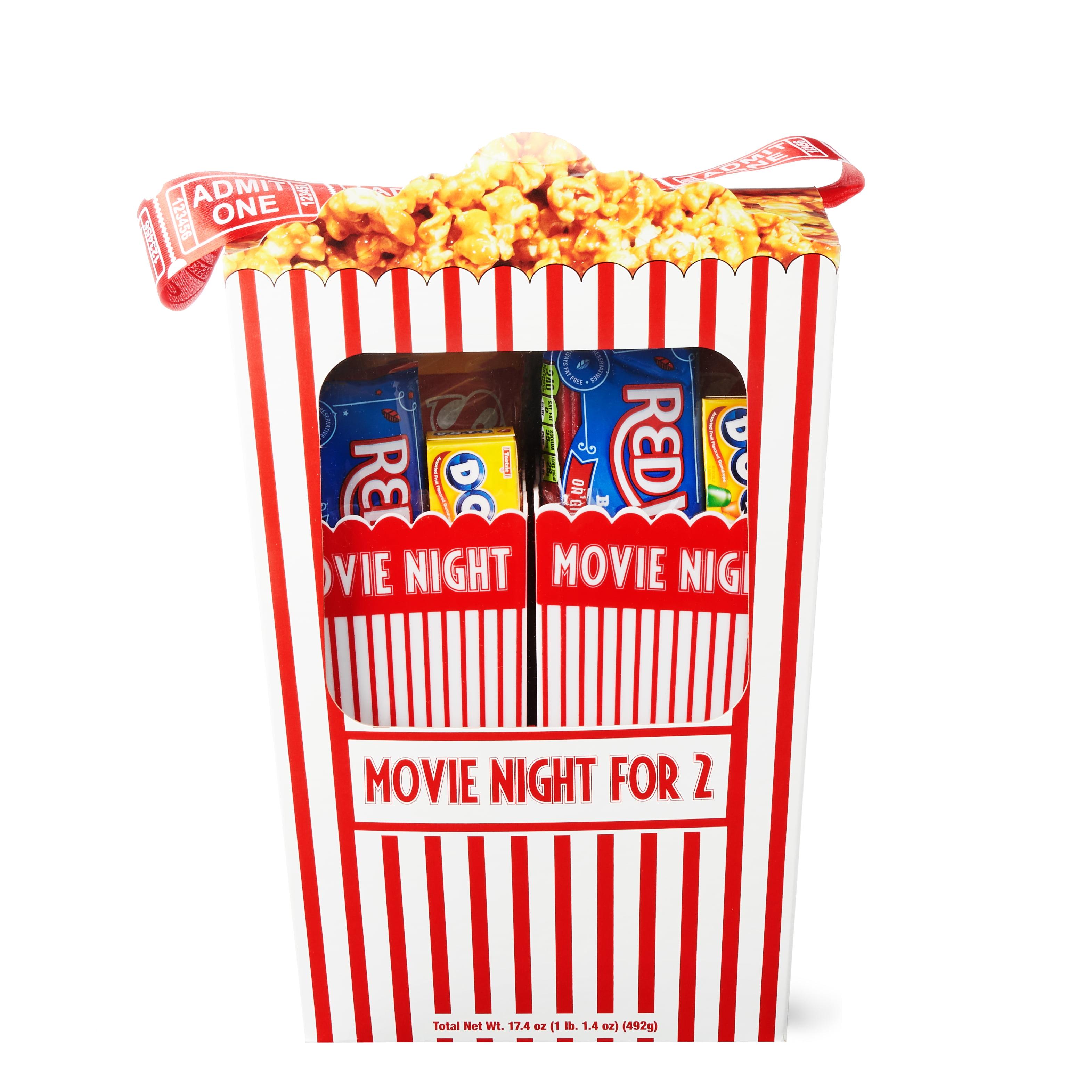 Movie Night for Two Popcorn Box