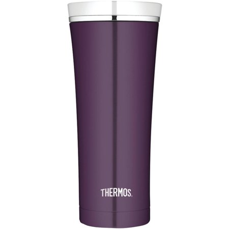 Thermos Ns105pl4 16-ounce Stainless Steel Travel Tumbler (plum)