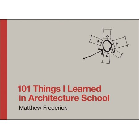 101 Things I Learned in Architecture School - School Things