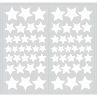 Glow in the Dark Stars Peel and Stick Wall Decals