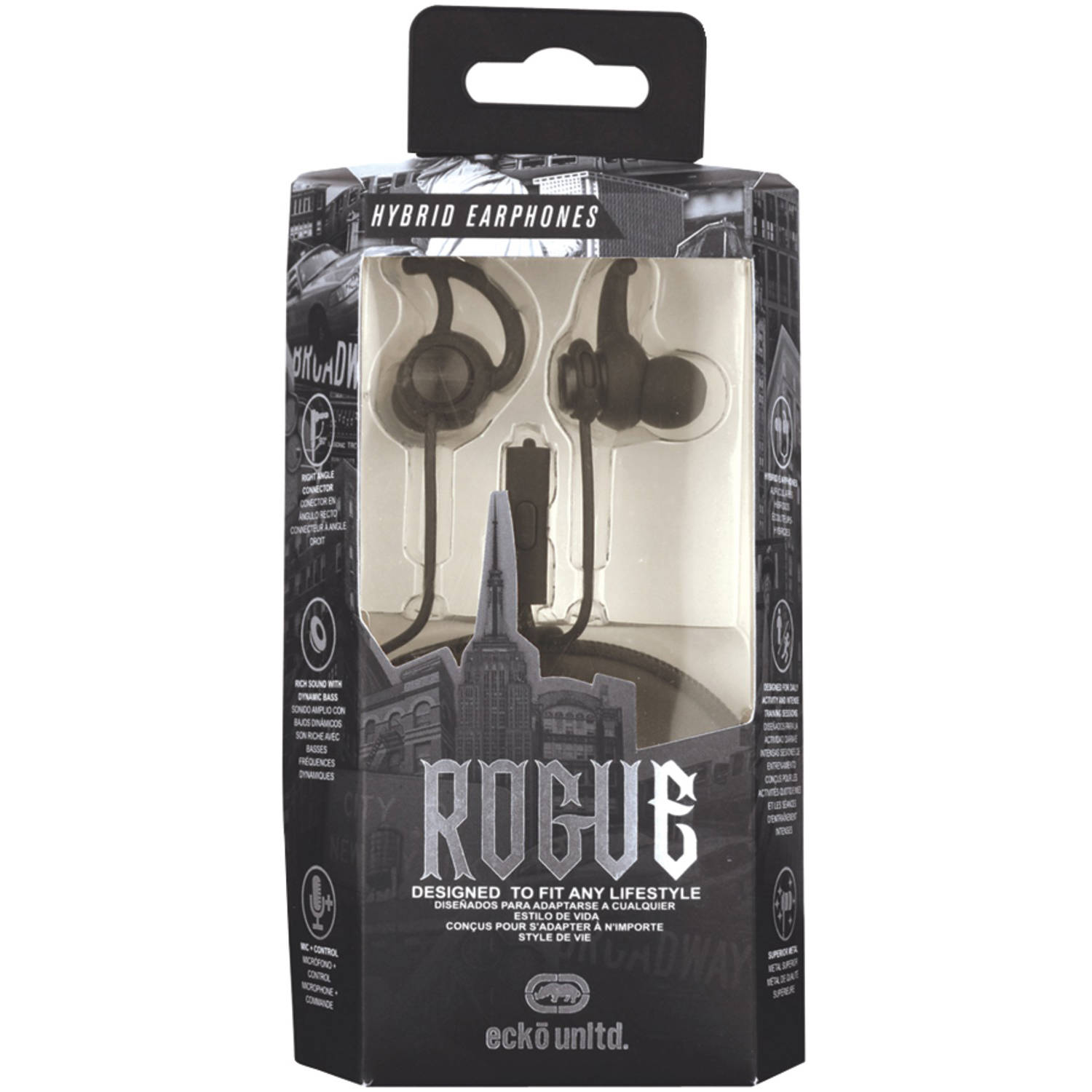 Ecko Unlimited Rogue Hybrid Earbuds