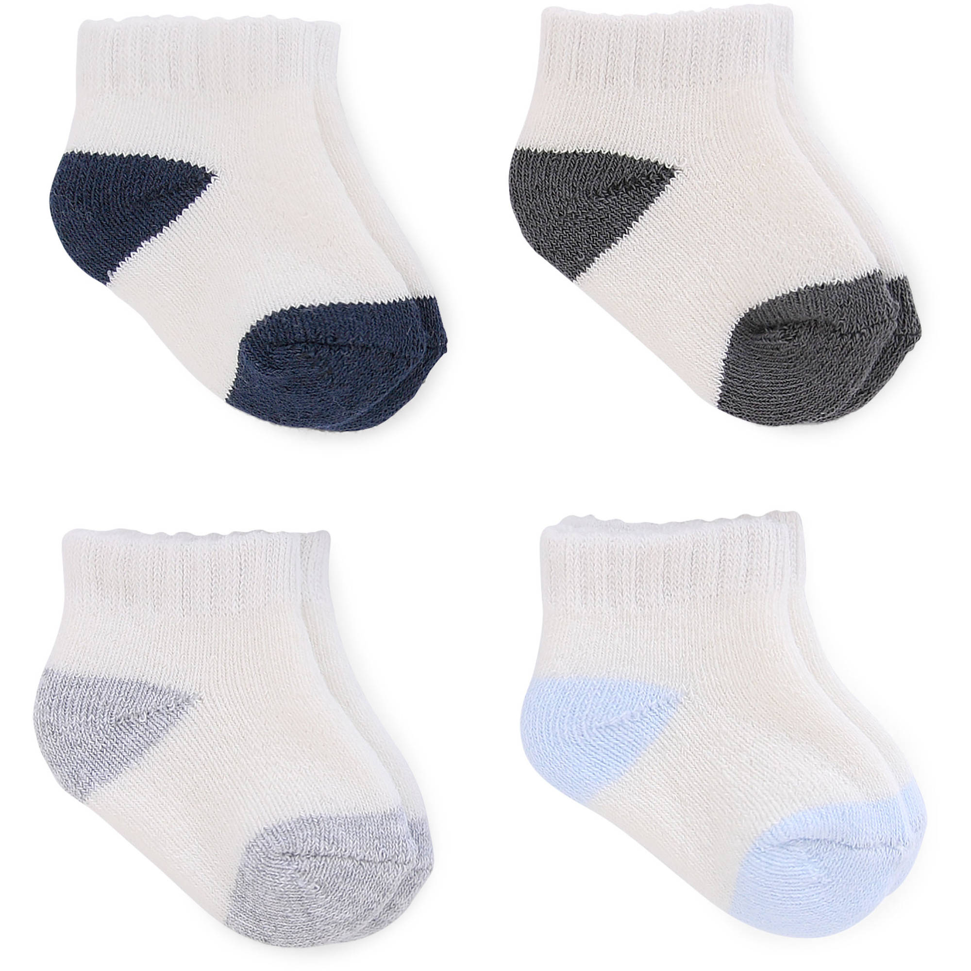 child of mine by carters newborn baby boy ankle socks