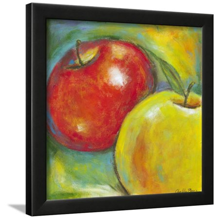 Awe Inspiring Abstract Fruits Iv Apple Painting Kitchen Art Framed Print Wall Art By Chariklia Zarris Complete Home Design Collection Epsylindsey Bellcom