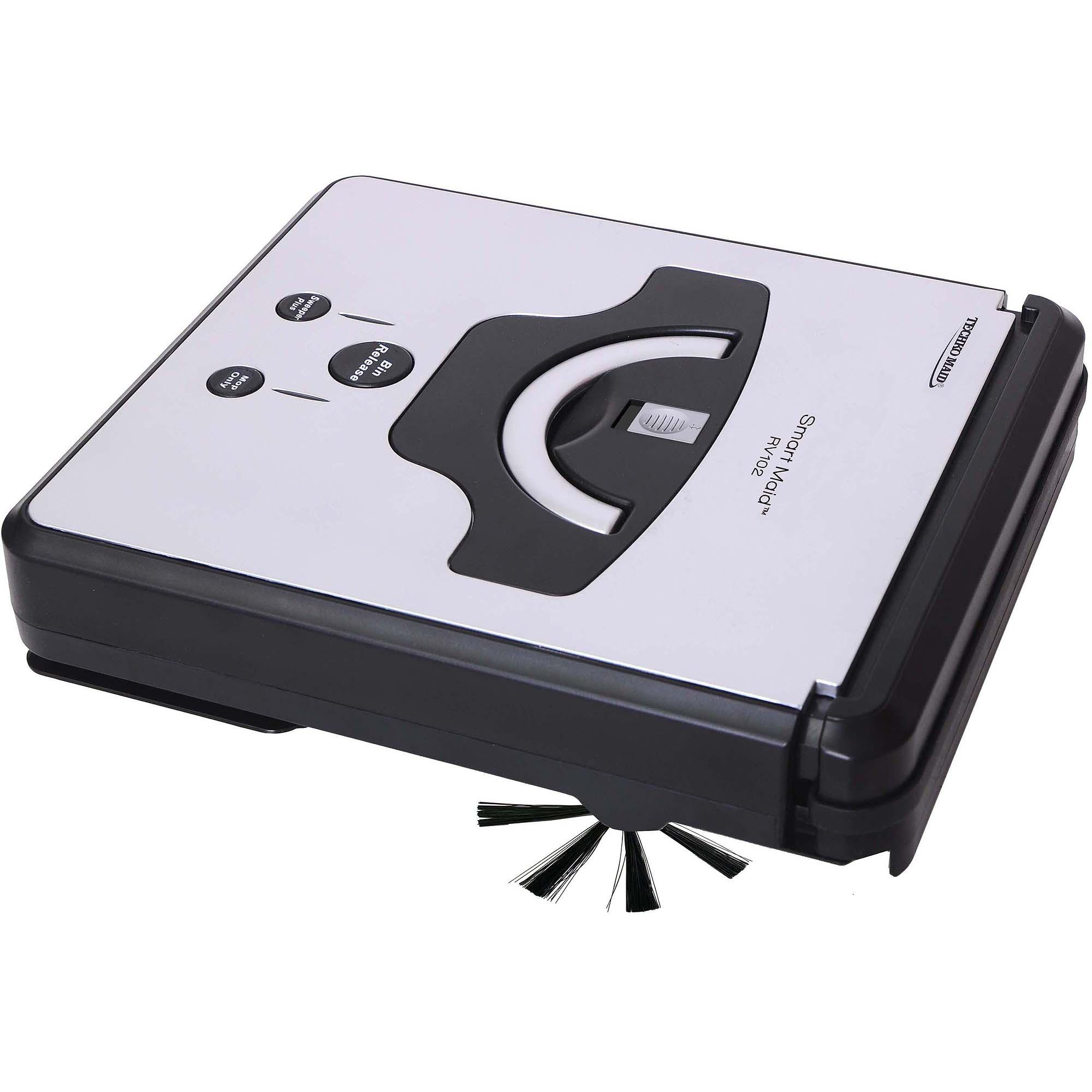 Techko Maid Robotic RV102 Robotic High Sweeper & Mopping Machine, Silver